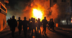 The London riots and Herd Behaviour.